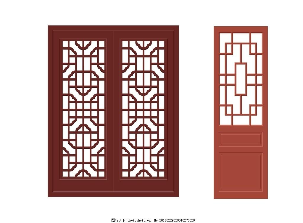 窗户 木框 木窗 复古木窗 木门 复古木门 设计 广告设计 广告设计 cdr