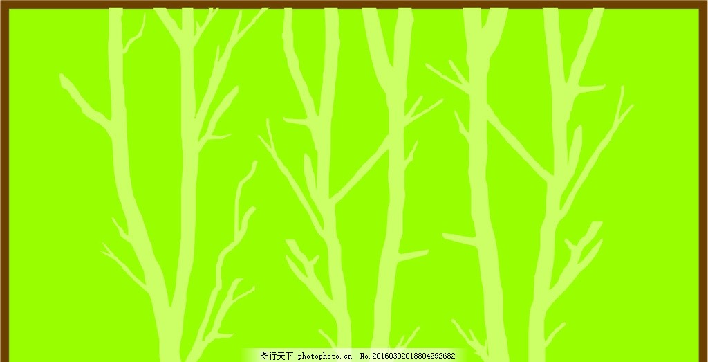 树木 树 硅藻泥矢量图 对角花 花矢量图 中式风格 中式 兰舍 古典