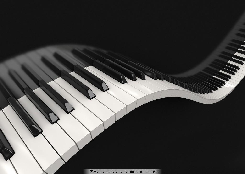炫酷钢琴图片