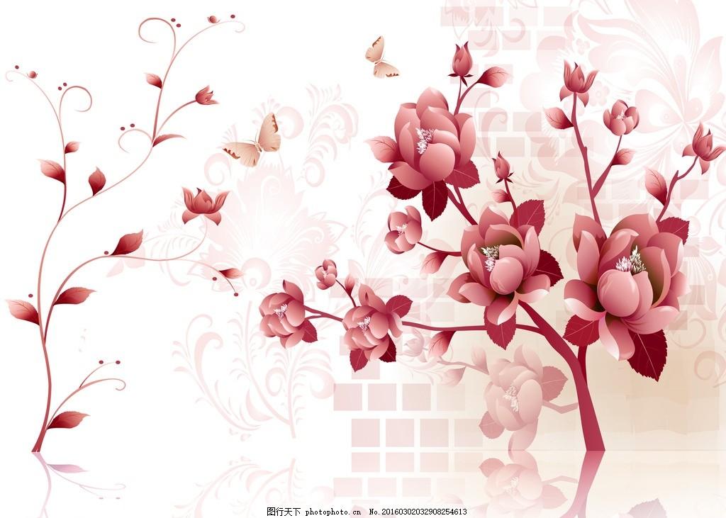 韩式手绘花
