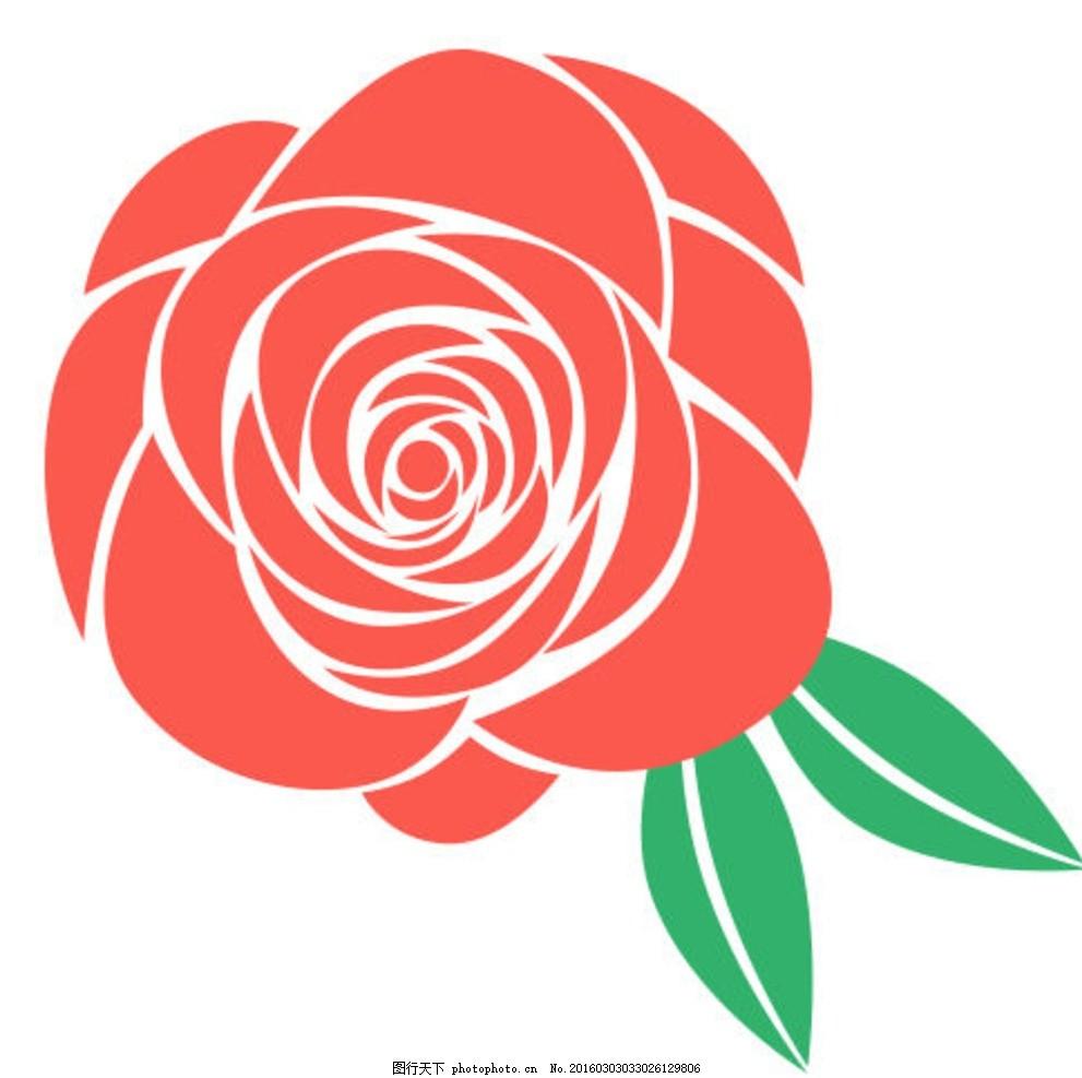 欧式古典玫瑰图