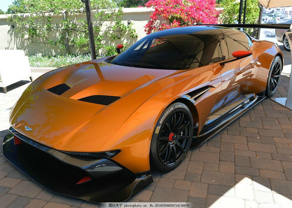 阿斯顿马丁 vulcan 橙色跑车 跑车 豪车 火神 摄影 现代科技 交通工具