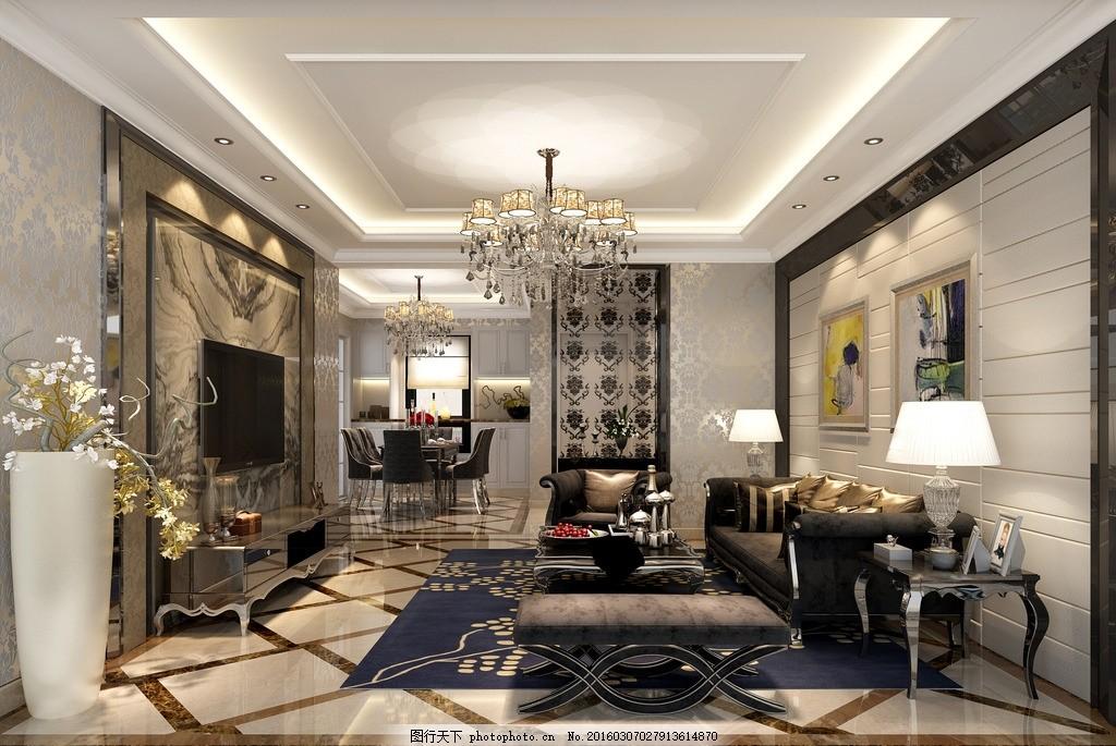 欧式新古典设计 室内 装修