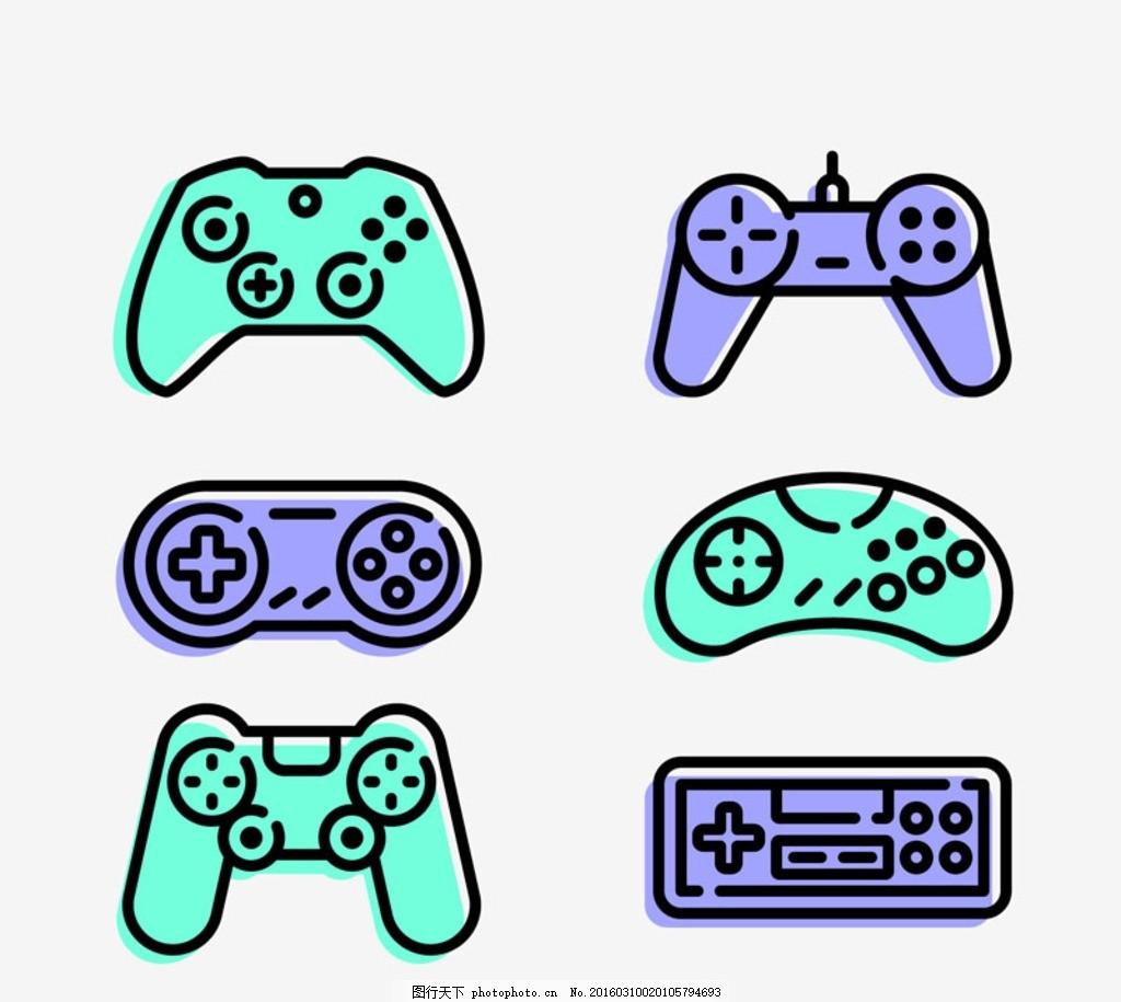 游戏机手柄 图标