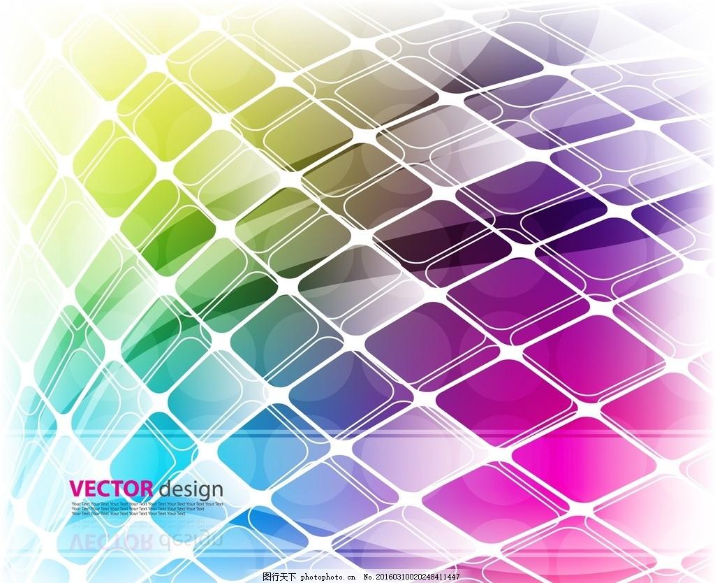 欧式方格线条素材
