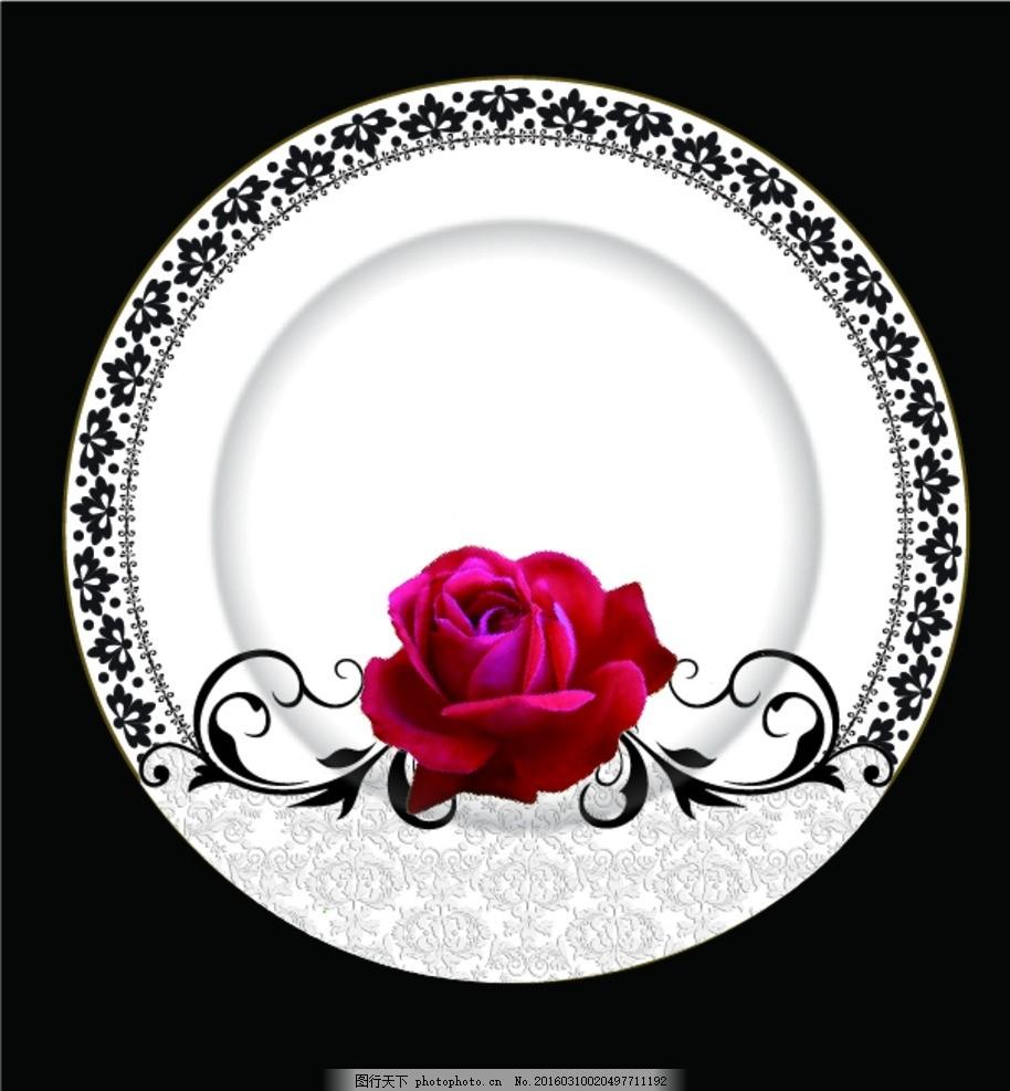 日用陶瓷 陶瓷花面 陶瓷花面设计 陶瓷花纸