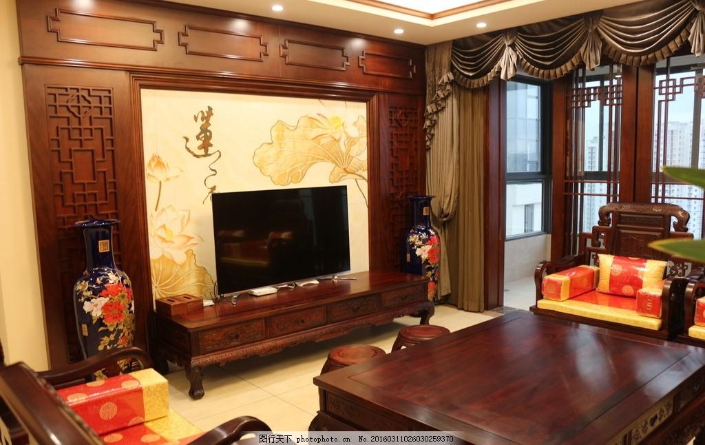 设计图库 生活百科 休闲娱乐  中式客厅 古典 中式 客厅 电视柜背景