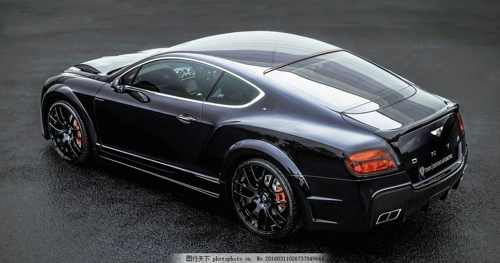 高档黑色汽车 高清大图 豪华汽车 高档轿车 跑车 酷炫色彩 俯拍