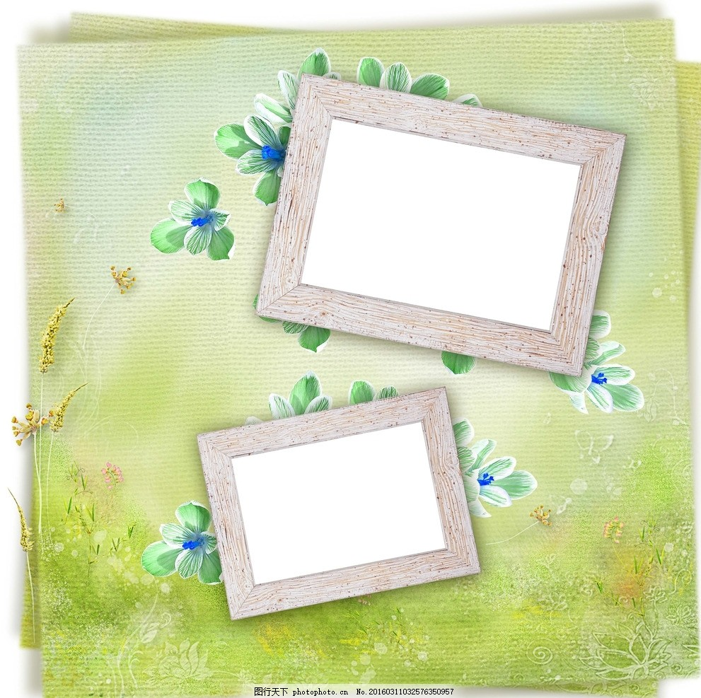 ppt 背景 背景图片 边框 模板 设计 相框 纸本便签 991_987