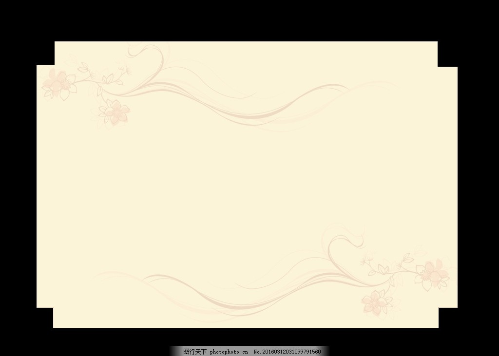 欧式花纹 高档 背景 古典边框 民间边框 展板 背景素材 源文件 psd