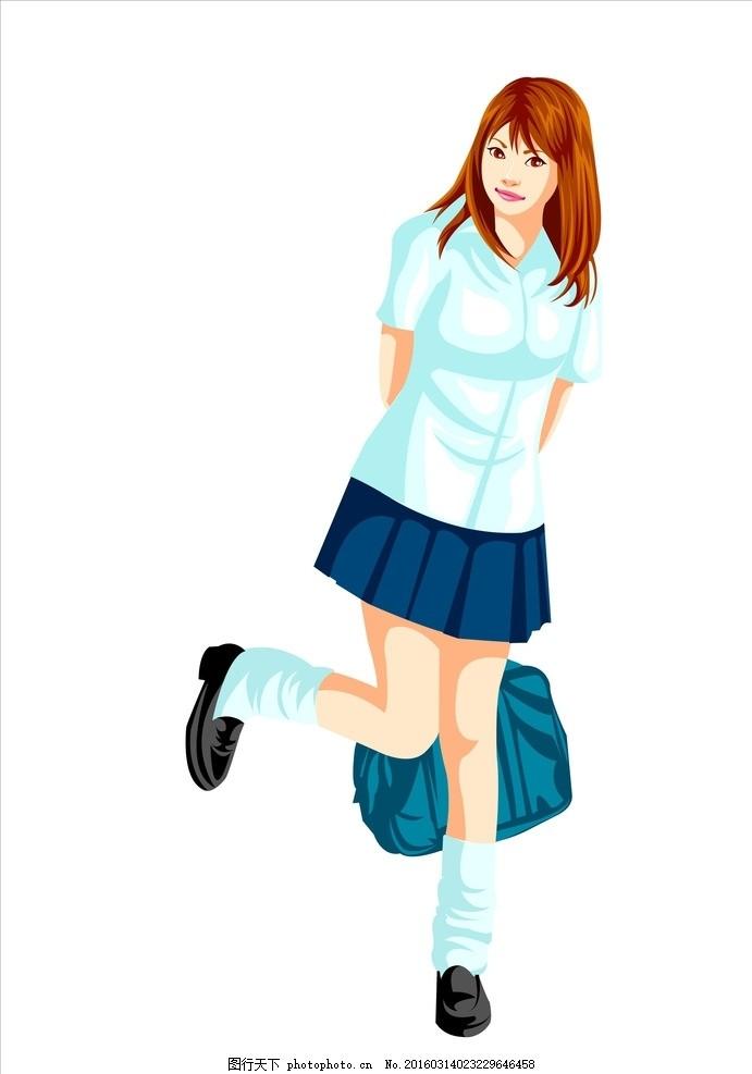 学生 小学生 背书包的学生 上学 十几岁的学生 大学 教育 青少年