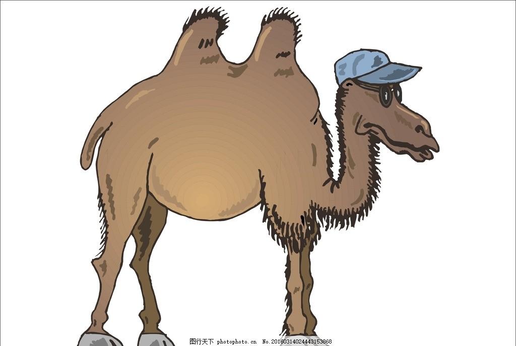 骆驼 沙漠骆驼 戈壁骆驼 荒漠骆驼 大漠骆驼 卡通骆驼 可爱骆驼 卡通