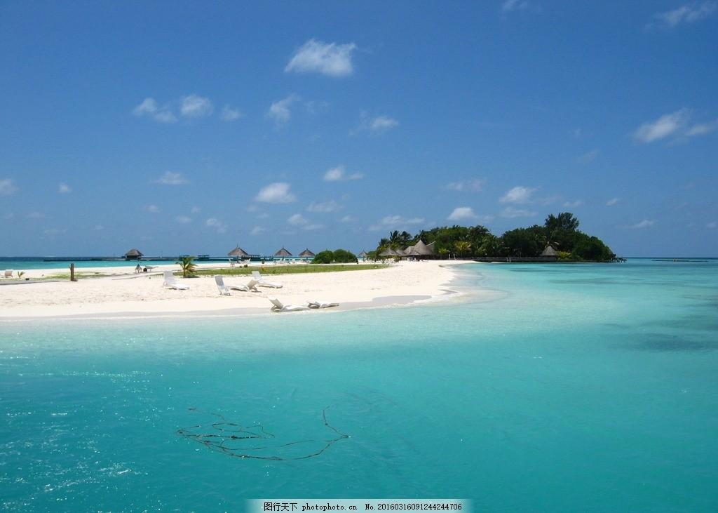 马尔代夫海滩 海边 大海 海岸 沙滩 海水 海岛 热带海边 海景