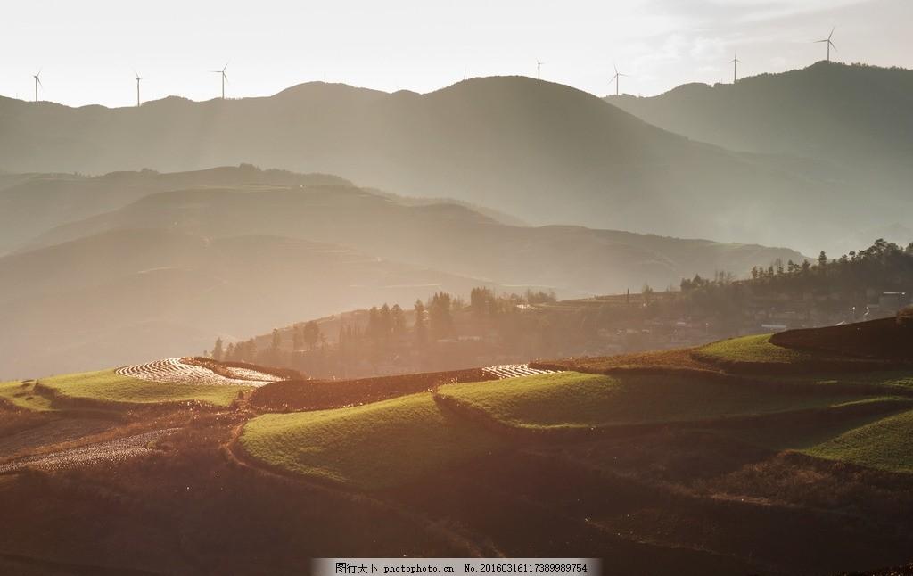 晨曦 夕阳 春风 早晨风景 山间美景 天空 山水风景 自然景观