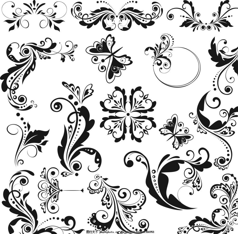 欧式边框 花边 边框 花纹 欧式 素材 设计 文化艺术 传统文化 cdr