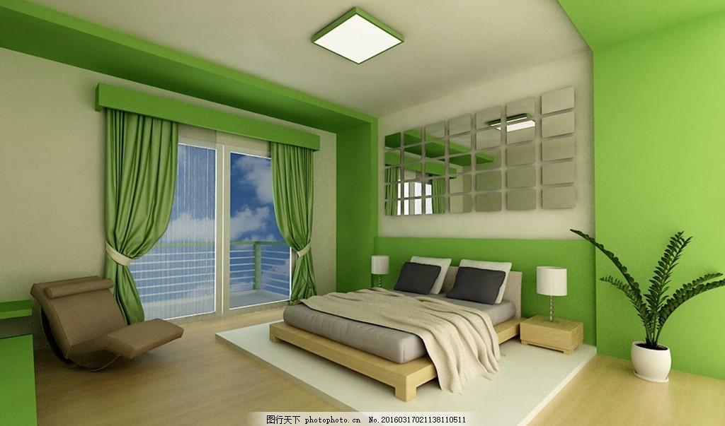 卧室设计 别墅卧室      客房模型 主卧 主卧室 客卧 次卧 套房 套间