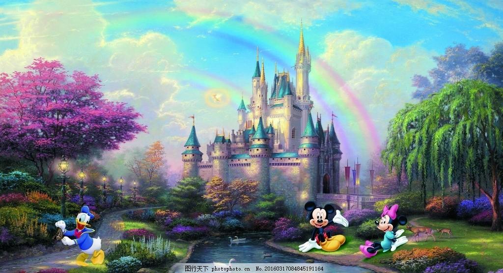 城堡梦幻场景
