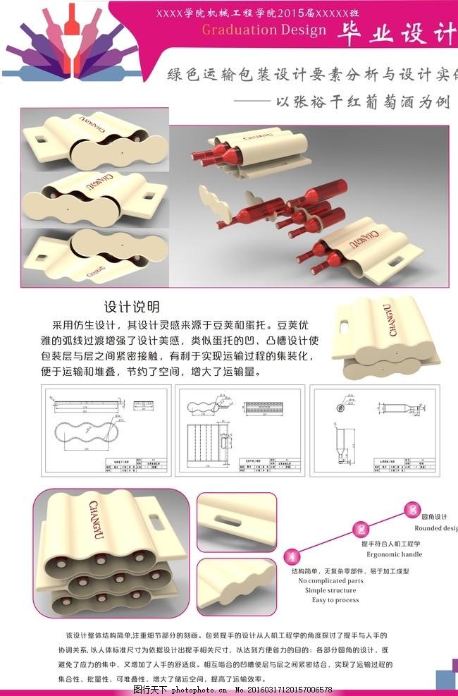 包装设毕业设计作品展示展板排版 毕业设计      产品设计 工业设计
