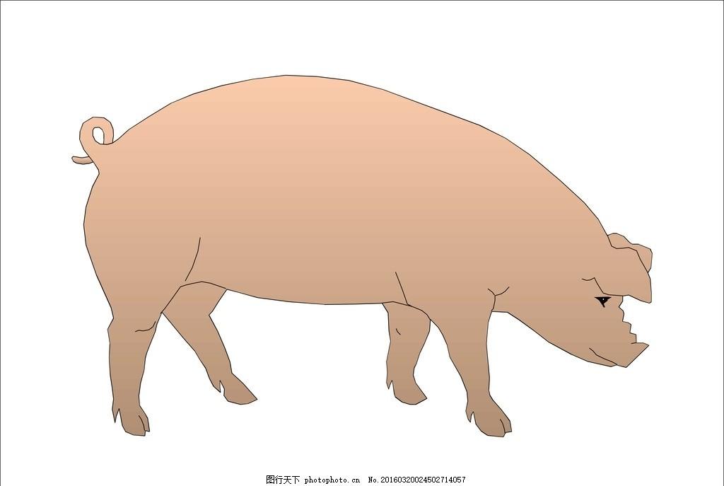 胖猪 肥猪 二师兄 猪八戒 卡通猪 生肖 猪 可爱的小猪 天蓬元帅 懒猪