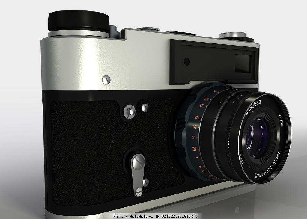 照相机 数码 渲染 产品