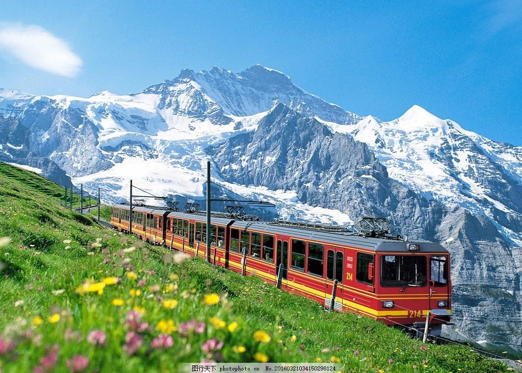 高原列车 火车 铁路 高原火车 摄影 风光 风景 自然风光