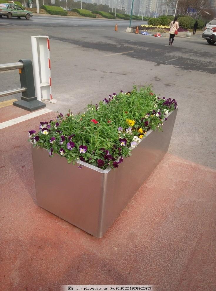 废物利用手工制作花坛
