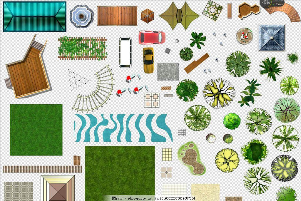 園林設計素材