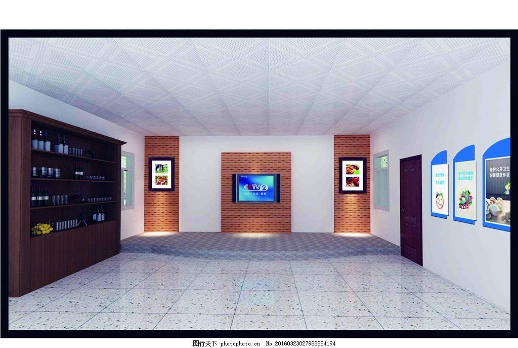 食堂效果图 效果方案 餐厅 设计方案