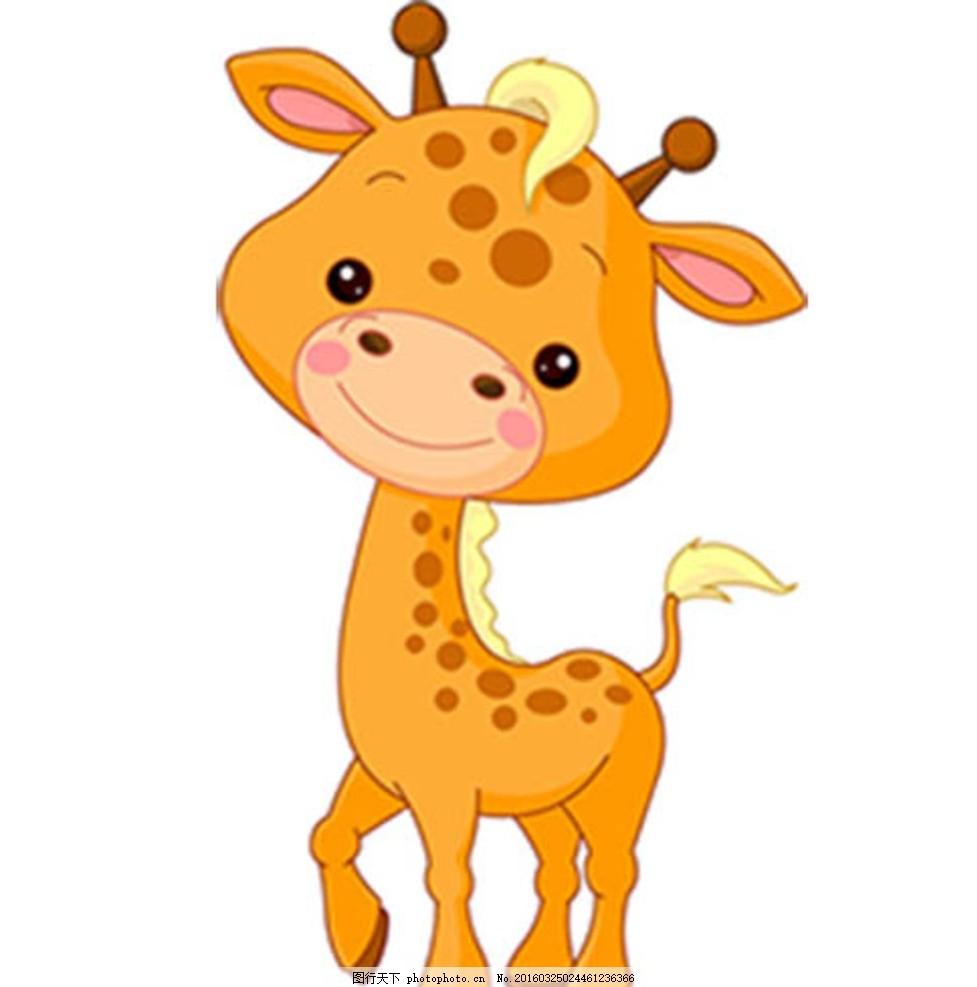 动画 卡通动物 梅花鹿卡通 可爱 动画 q板 设计 生物世界 野生动物