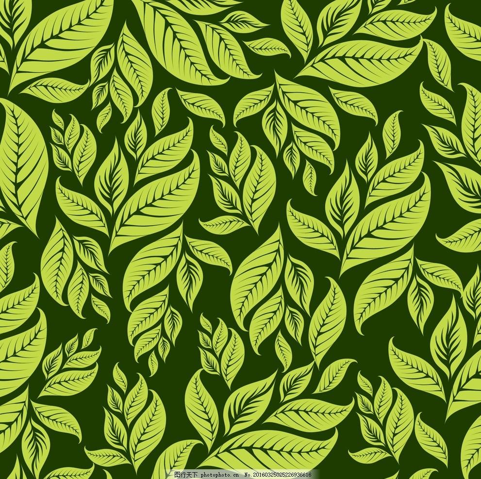 手绘树叶主题画4k纸