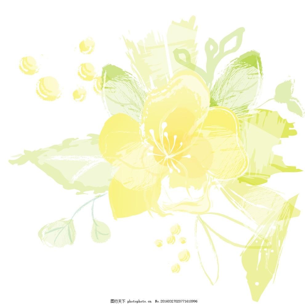 梦幻花纹 模版下载 梦幻底纹 春天 手绘花纹 精美花纹 花纹贴图