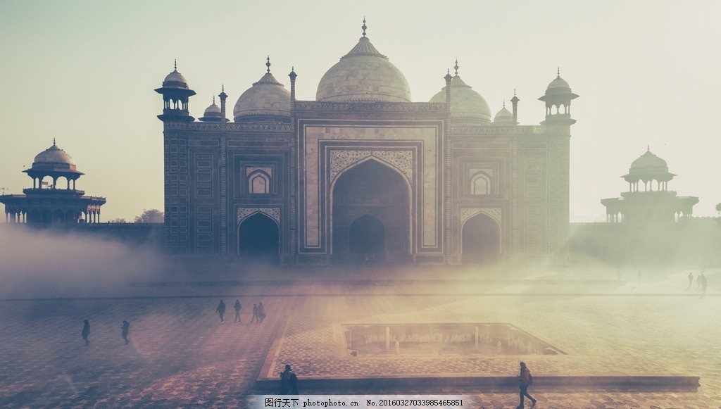 唯美 风景 风光 旅行 人文 印度 泰姬陵 古建筑 摄影 旅游摄影 国外