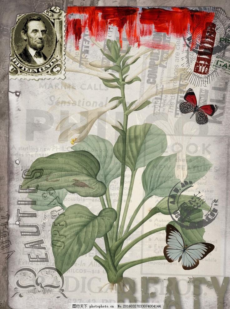 欧式古典花卉装饰画