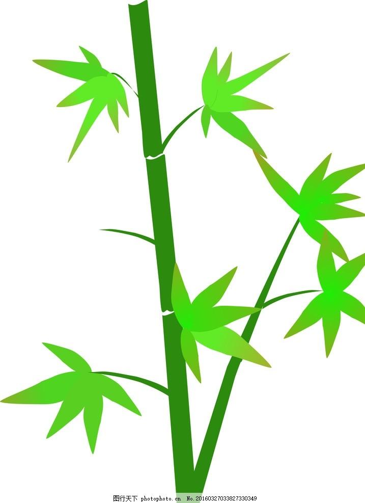 竹子 矢量 图片素材