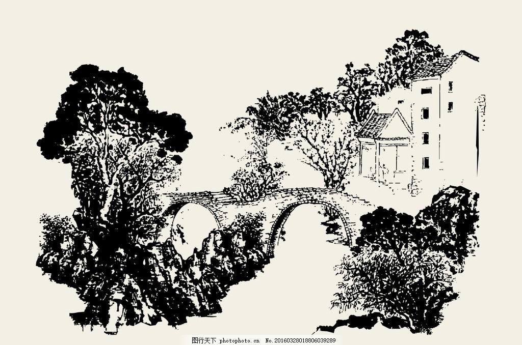 房屋 矢量 老房子 线描 历史 图案