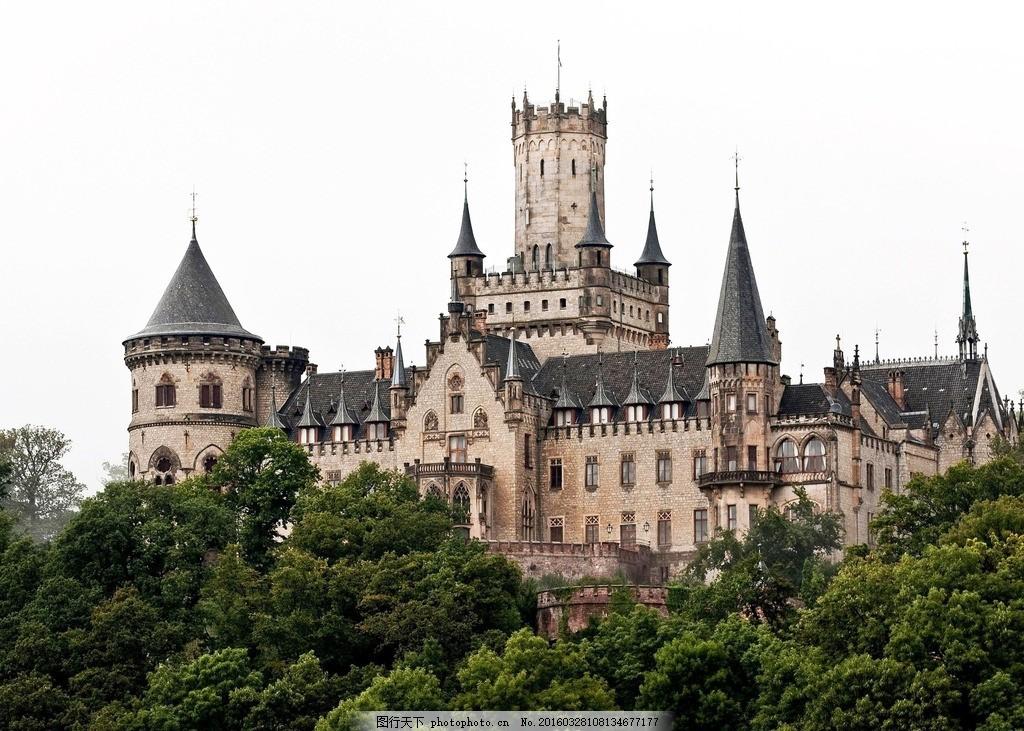 古城堡 古堡 哥特式 哥特式古堡 中世纪城堡 欧洲城堡 教堂 欧式城堡图片