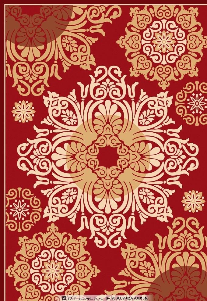 地毯 欧式 墙面背景 欧花 硅藻泥 硅藻泥图案 背景墙 背景墙图案