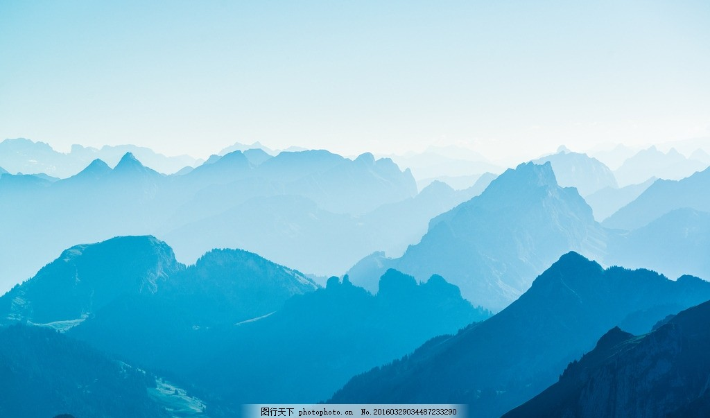 远山含黛 山 蓝色 远远的山 山景 云景 摄影 自然景观 山水风景 300