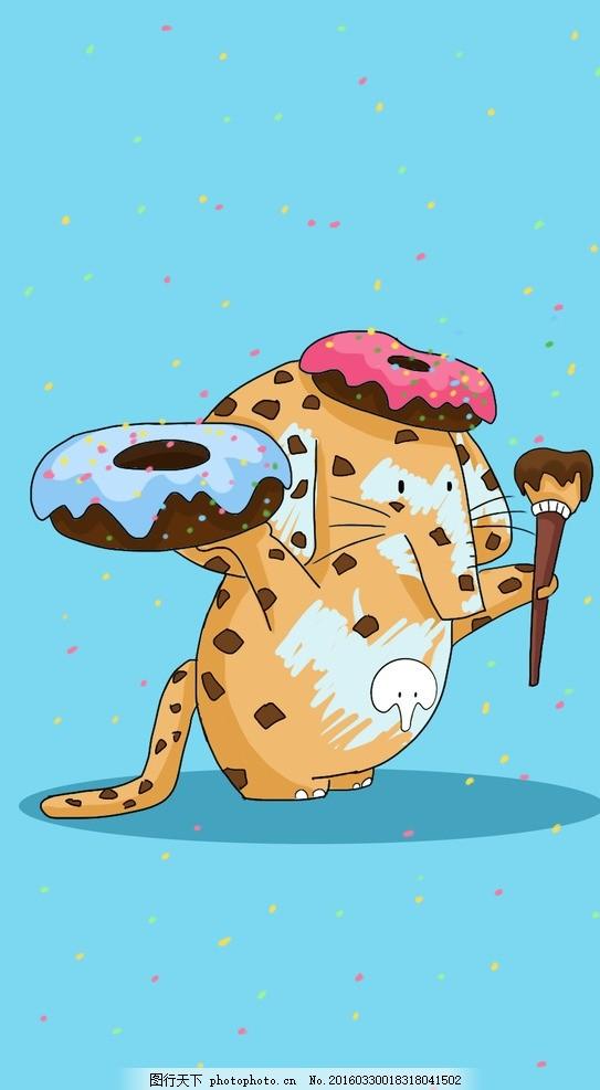 贝鼻母婴手机壁纸 疯狂动物城 原创 漫画 动漫动画