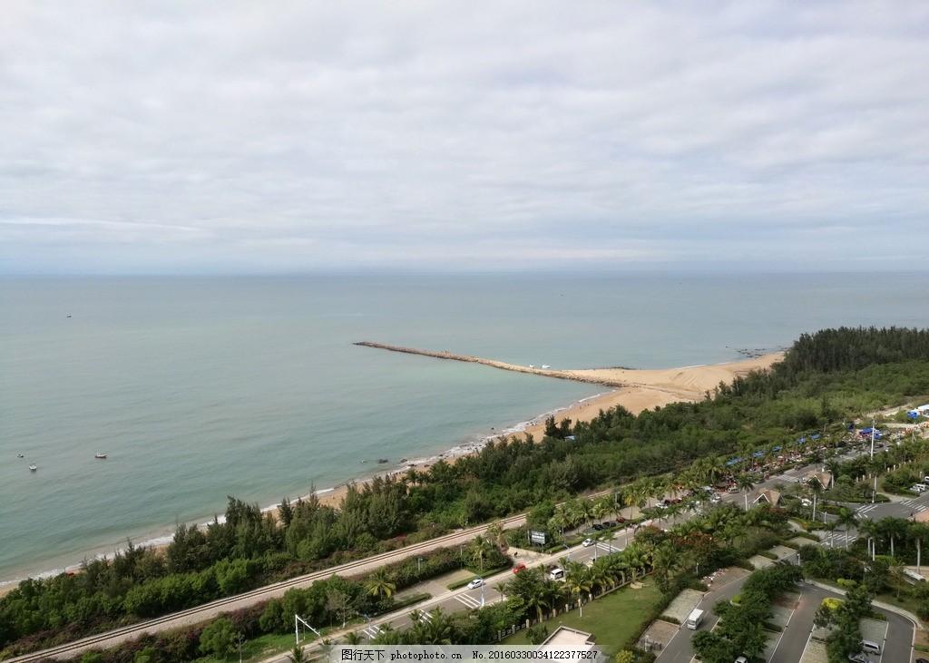 花边 海边 海边城市 海边建筑 风景 大海 俯视 自然风景 摄影 旅游